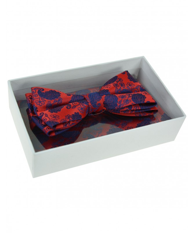 Bow Tie Victorio + pocket square Lux 164