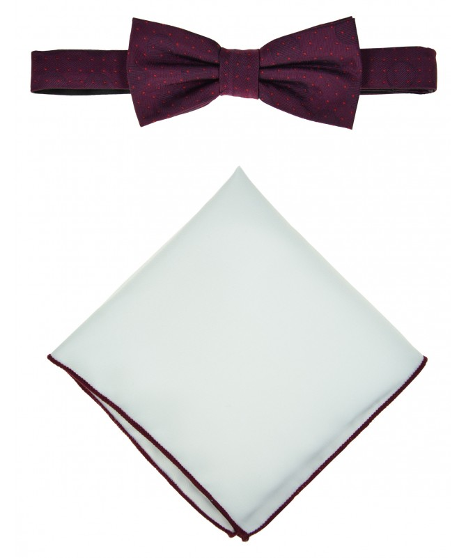 Bow Tie Victorio + pocket square Lux 168