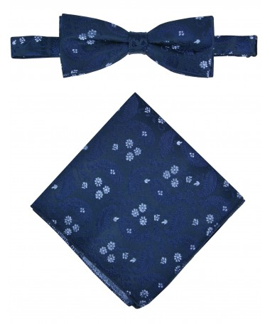 Bow Tie Victorio + pocket square Lux 169