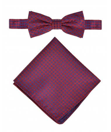 Bow Tie Victorio + pocket square Lux 170