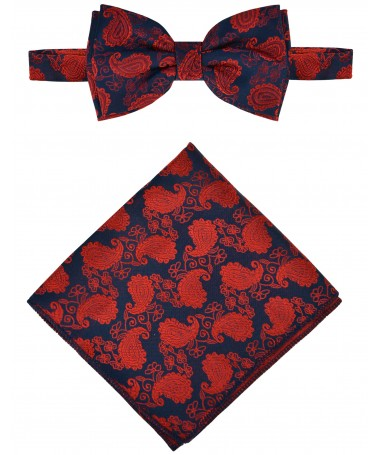 Bow Tie Victorio + pocket square Lux 171