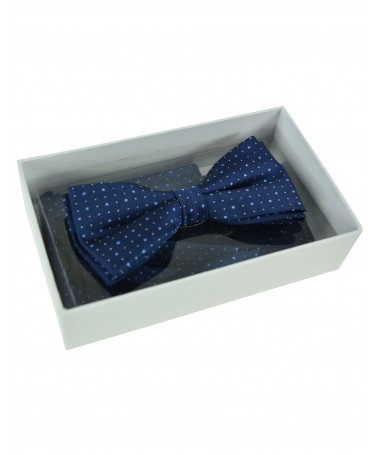 Bow Tie Victorio + pocket square Lux 173